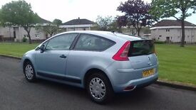 citroen c4 coupe 1.4 petrol