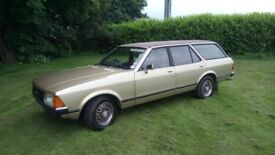 1979 Ford Granada 2.3L Estate. MOT to Feb 2019. Needs Tidying But Very Reliable