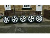 Audi alloys wheels a4 a6 sline s line