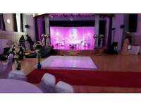 Asian Wedding, Floral Stages, Mehndi Stages, Chair covers & Centrepieces for Hire