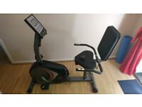 Exercise bike V-Fit Magnetic Manual Recumbent Cycle