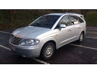 ssangyong rodius 270 ex 4wd automatic turbo diesel 2009 09 plate 7seater ml