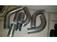 Intercooler pipe and hoses