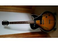 Stunning Gibson ES135 Guitar with P100's