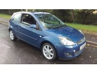 2008 58 Ford Fiesta 1.25 Zetec Blue. A Lovely Little Car. Ideal For The New Driver.