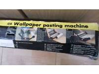 WALLPAPER PASTING MACHINE