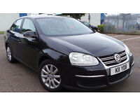 2006 56 VOLKSWAGEN JETTA S 1.9 TDI BLACK MOT 10/17 DIESEL(CHEAPER PART EX WELCOME)