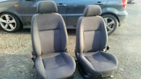 VW 6n2 polo front and rear seats