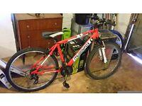 Red Muddy Fox Mountain Bike!!!!