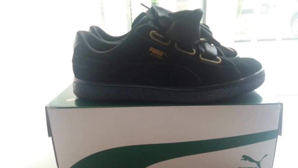 best website ad94a bcf01 Womens black suede puma trainers | in Stoke-on-Trent, Staffordshire |  Gumtree