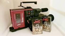 JVC Retro/Vintage Compact VHS Camera/Camcorder