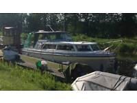Princess 32 diesel boat