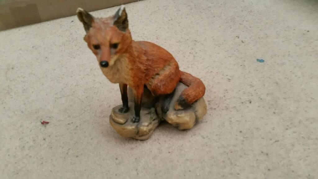 Fox wild animal ornament home stuff decore