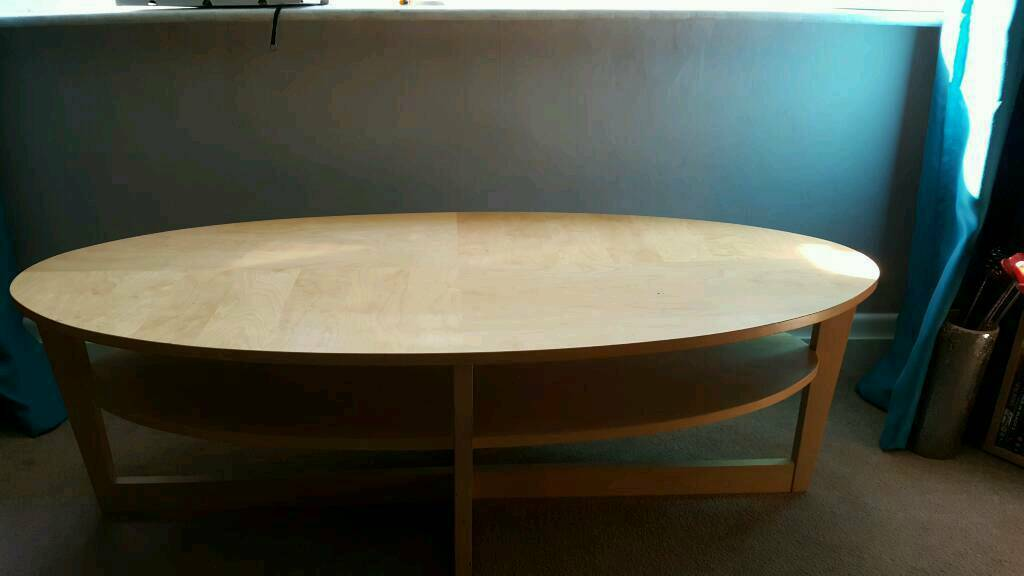 Oval coffee table in bournemouth dorset gumtree for Coffee tables gumtree