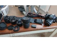 Canon dslr digital camera and lenses and more