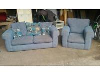 Blue Fabric Suite