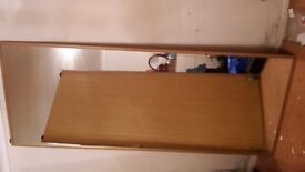 fitted wardrobe sliding doors, track and carcass
