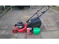 Champion 450 petrol lawn mower, fuel and service kit