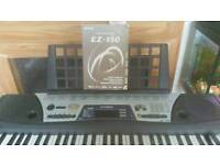 Yamaha ez-150 with stand and owner manual