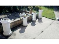 Chimney pots etc