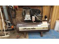 Azenda 200 litre air compressor