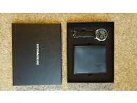 new mens armani watch wallet set