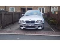 BARGAIN BMW 325i M sport AUTO FSH NEED GONE £1100 ONO