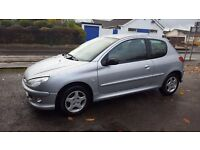 Peugeot 206 1.4 2006 reg excellent condition and runner