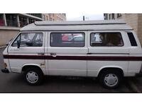 VW T25 Campervan. Valid MOT until 17/03/19, running intermittently.