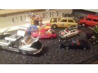 bundle of die cast cars