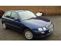 ROVER 25 11 16V 2002 VERY CLEAN CAR ONLY 62K MILES