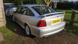 Vauxhall Vectra SRI 2.6l V6 170 bhp
