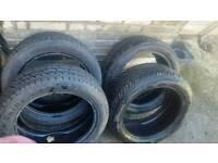 5 x 215 - 50 - 17 tyres