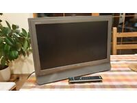 "SONY 23"" LCD COLOR TV WITH REMOTE"