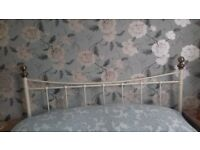 Wrought iron Kingsize headbord