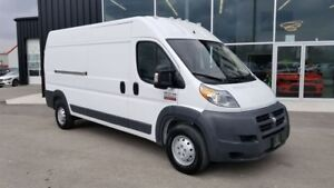 2017 Ram ProMaster 2500 High Roof, V6 GAS, PARTITION, BUCKET SEA