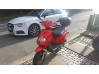 Tgb 49cc moped scooter 50cc gilera honda dna speedfighter px swaps cheap bargain