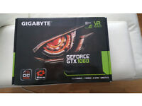 Gigabyte Geforce GTX 1060 ITX GDDR5 6GB PCI-E (Brand new, unused)