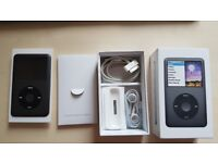 Apple iPod Classic - Black - 7th Gen - 160GB - Boxed - Complete - Excellent condition