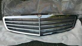 Genuine Mercedes C Class W204 Bonnet Grille 2007>2014