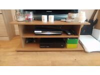 Large TV stand - Oak Effect - For Sale