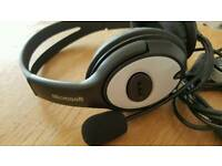 MICROSOFT HEADPHONES WITH MICROPHONE- LX 3000 in fantastic conditions