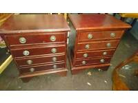 Bedside cabinets /drawers ideal for shabby chic