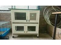 Small rabbit/guinea pig hutch