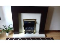dimplex electric fire with surround