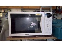 Samsung microwave, oven and grill