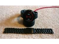 Moto 360 Smart Watch & Steel Strap