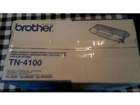 BROTHER TN-4100 TONER CARTRIDGE...BRAND NEW & BOXED