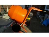 Belle Minimix 150 240v Cement Concrete Mixer