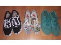 Mens Vans (3 pairs)